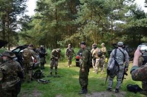 Тактические учения в посольской станице Покровской Балтийского Союза казаков СКР