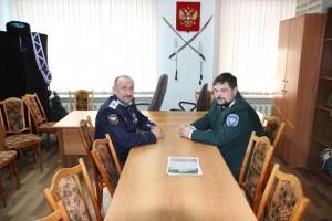 Встреча с руководством Особого северного казачьего округа